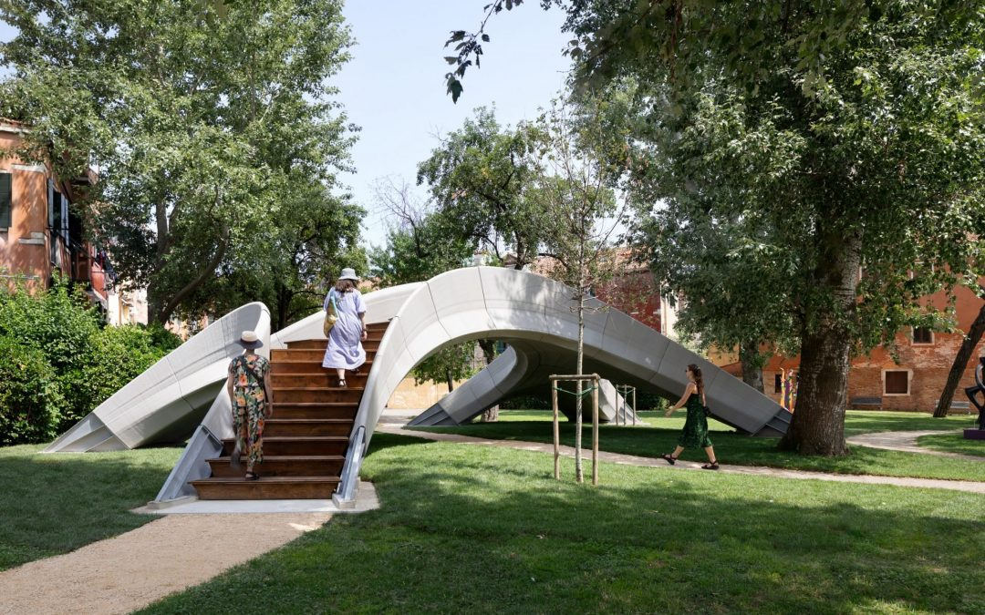 Betonhíd 3D nyomtatott előregyártott betonelemekből